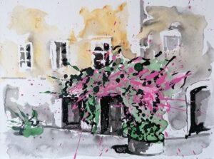 angolo fiorito Roma